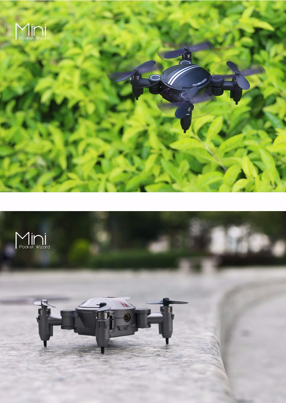 DWI Dowellin 2.4Ghz transmitter 6 Axis mini pocket selfie drone with hd camera