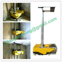 Full-automation Cement plastering machine for wall