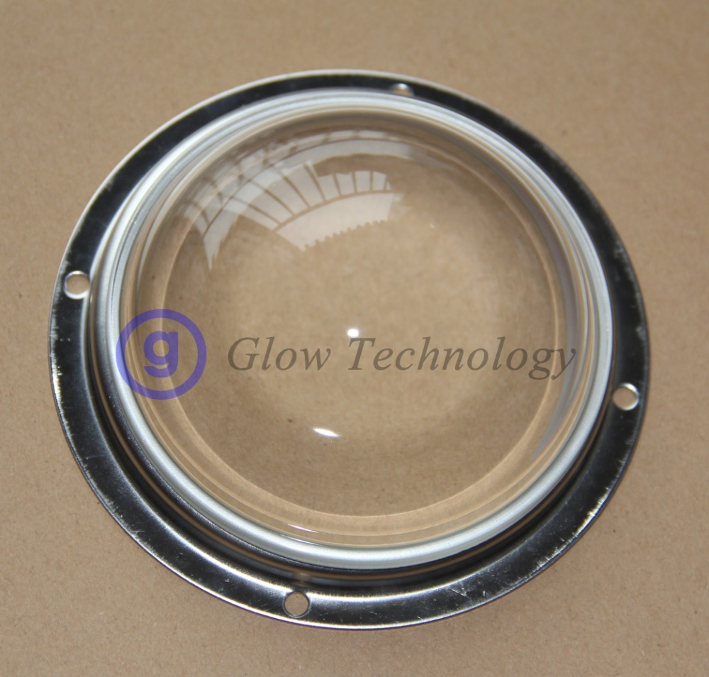 Optical LED Glass Lens 100mm 120 degree for Cree COB Array CXA3590 CXB3590