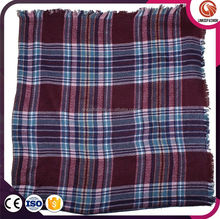 Long and colorful wholesale blanket scarf shaw