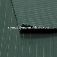 SDL1010255 Fashion style stripe polyester cotton suiting fabric