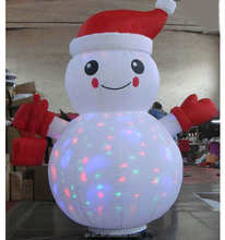 Custom outdoor decoration giant Christmas inflatable snowman,