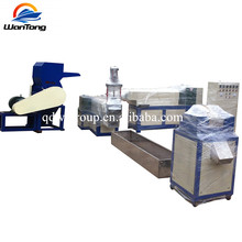 pp pe woven bags granulator machine,plastic recycling granules production line