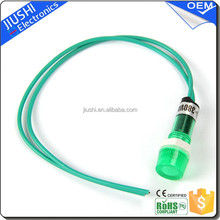 XDN1-C small indicator light 10mm 12v24v220v red green lamp with two wires best wholesale website