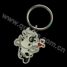 Lovely Small Dairy Cow Key Chain