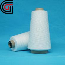 100 polyester spun yarn for weaving fabric