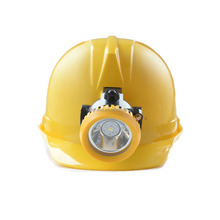 China Waterproof LED rechargeable Cordless Mining Cap Head Lamp 2.5Ah rechargeable cordless LED safety mining cap headlight