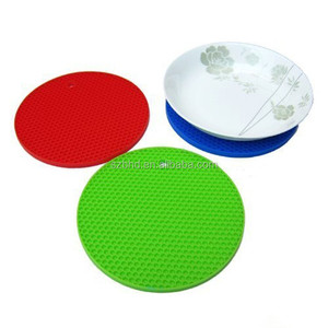 Silicone pot holder place mat hot pad heat resistant silicon place mat