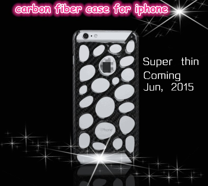 100% Real 3K Carbon Fiber Mobile Phone Case Cover For Iphone 6 6plus