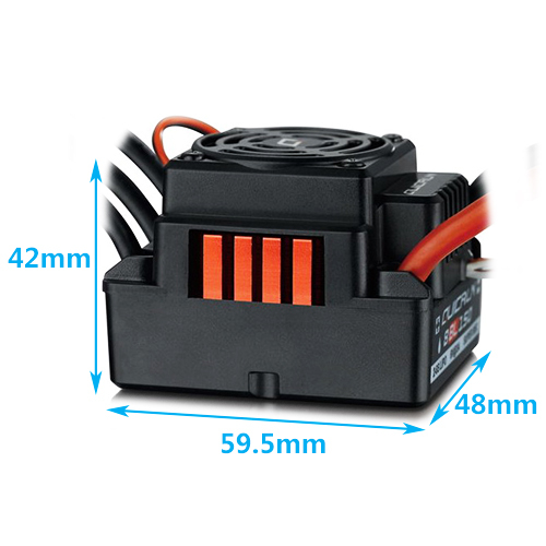 Hobbywing 150A Waterproof Brushless ESC For 1/8 RC Car Buggy ESC