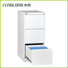 Simple 3 drawer narrow storage shoe cabinet white cabinet for sale