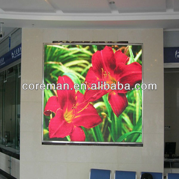 smd wall LED top grade p4 p5 full color smd led display billboard