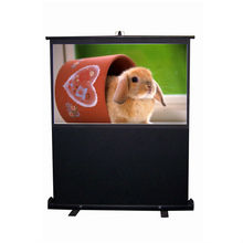 format 4:3 80 inch floor Pull up projection screen /portable projector screen/outdoor projection screen
