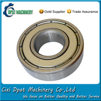 Engine parts 120mm id high speed radial ball bearing 6024-z from China supplier