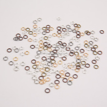 For jewelry making stainless steel colored jump ring open jump rings