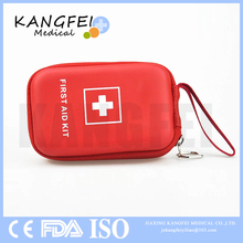 CE ISO FDA Approved KF38 emergency medical waterproof EVA mini trip travel first aid kit