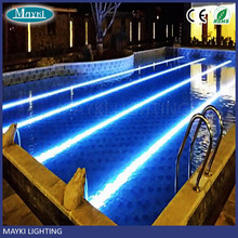 12mm diameter solid core side glow optic fiber cable for pool optic light ,indoor ,outdoor fiber opitc light