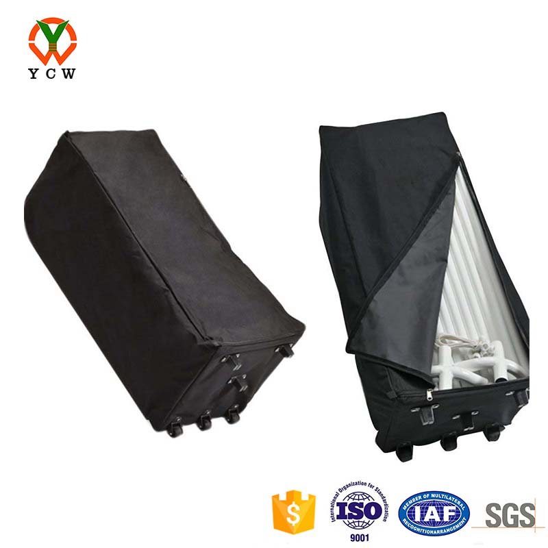 Shelter logic store canopy black rolling storage bag