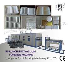Best Quality CHINA No.1 Fushi Brand Robot Hand Model disposable food container production line , DONA PLATE MAKING MACHINE