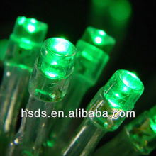 Battery Operated Led Christmas green lights 20Counts