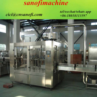 Small factory water bottling plant