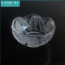 LXHY-W011footed sugar glass bowl set