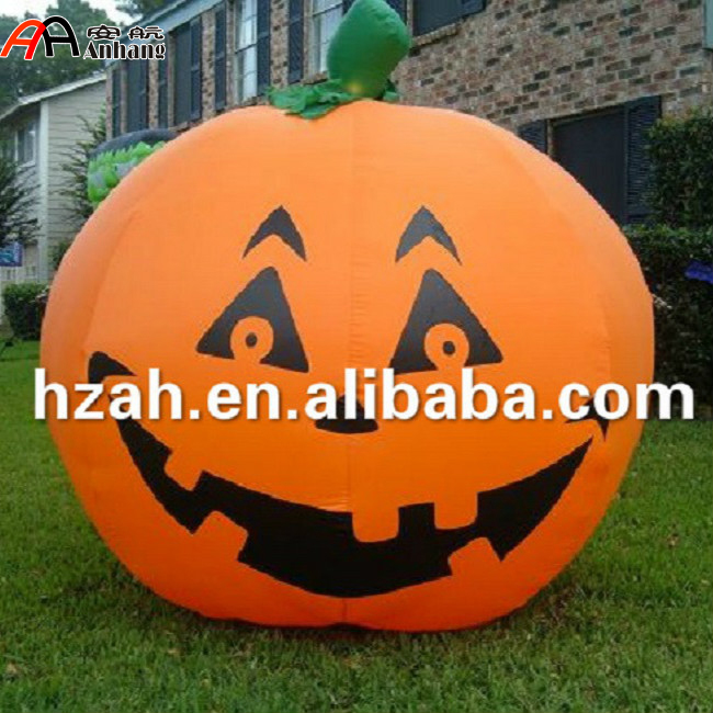 Giant Inflatable Halloween Pumpkin Decoration/ Halloween Artificial Pumpkin/Halloween Inflatable