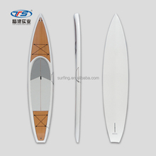 Customized EPS Epoxy Wooden Grain SUP Stand Up Paddle Board Racing Board Touring Board