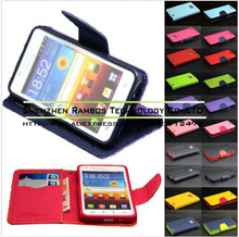 PU Leather Wallet Pouch Sleeve Stand Flip Case Cover for Nokia Lumia N900