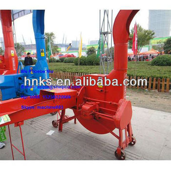 2017 good quality chaff cutter for animal fodder