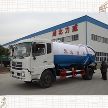 Dongfeng Tianjin high quality 12m3 tank capacity sewage suction truck