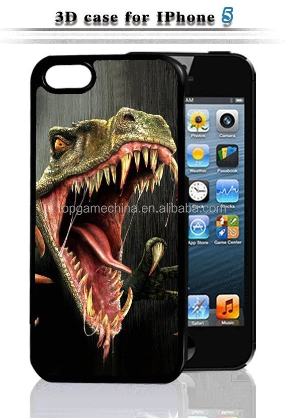 digital phone case 3d printer for iPhone 5 animal shape phone case