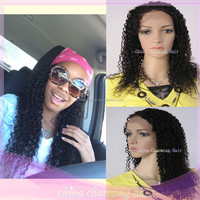 long jerry curl human hair full lace wigs