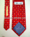 silk neck tie from manufacturer