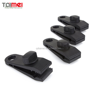 Multi Purpose Plastic Tarpaulin Clips For Outdoors Farming Garden