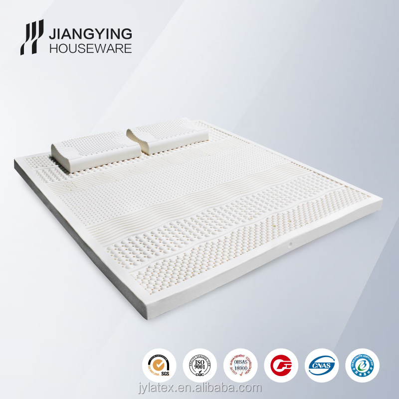 natural latex filling material memory form raw latex seven-zone mattress