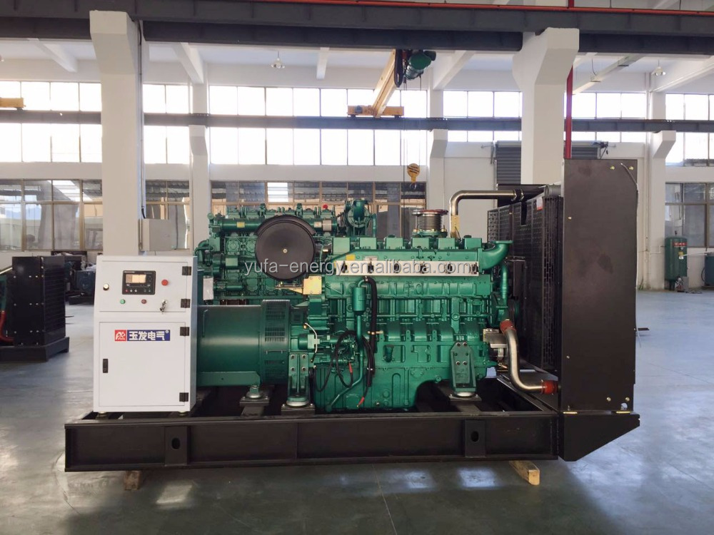 China manufacturer Generators YUCHAI engine biogas generator for sale philippines
