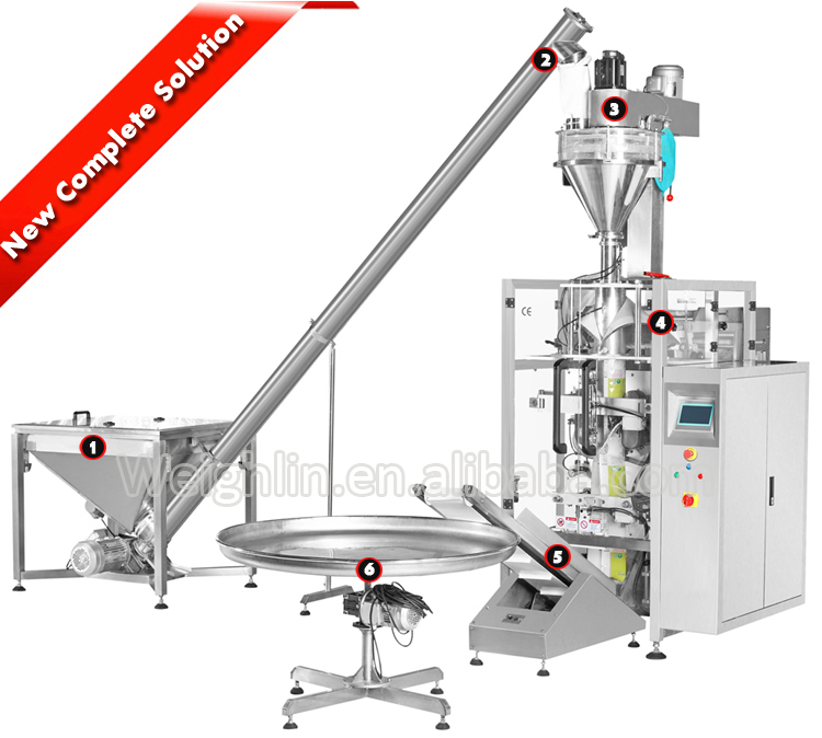 Roll film automatic forming filling sealing packaging machine for granules liquid juice
