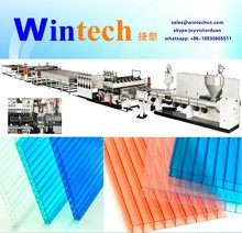 PP/PC Hollow Grid Sheet Production Line/Hollow Grid Plate Extrusion Machine