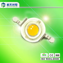 super bright 1 watt high power led 140-150lm