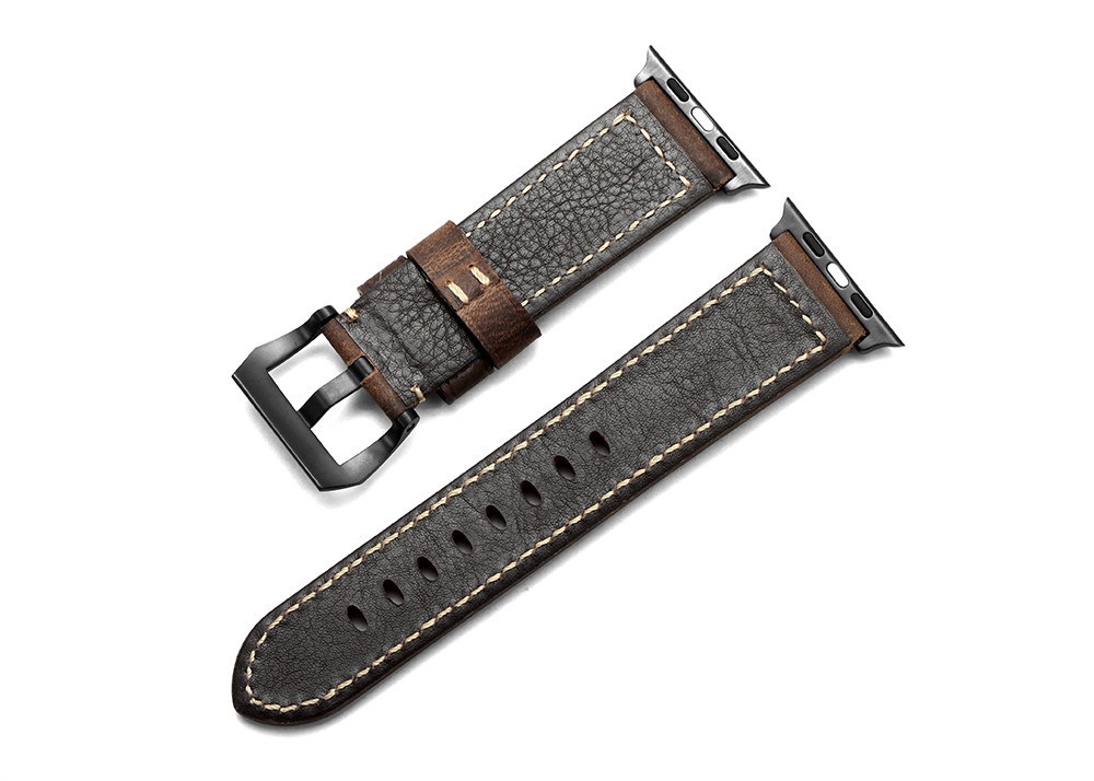 For 42mm Apple Watch Band For Iwatch Watch Strap Vintage Leather Bracelet