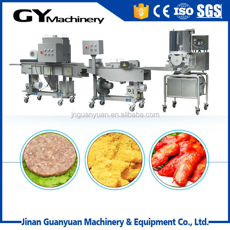 Middle scale meat patty nugget forming machine/Hamburger Making Line