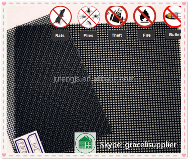 China manufacture Safety stainless steel window screen net / <strong>mesh</strong>
