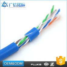 Competitive price 23AWG custom network cable CAT6 UTP networking cables
