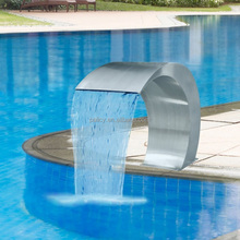 stainless steel 304/316 swimming pool fountain spa waterfall