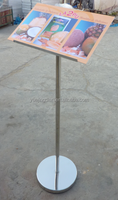 metal poster display stand for A3 and A4 sheet