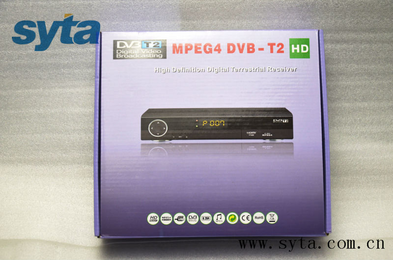 Colombia dvb t2 digital terrestrial tv receiver set top box