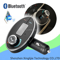 Bluetooth Handsfree Car Kit Stereo MP3 Player FM Transmitter LCD TF USB Charger