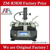 Hot air+infrared BGA Rework Station zm-r5830 bga machine for laptop motherboard and ps3 xbox360 galaxy note3 u9000