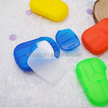 Travel Thin Slim Hygiene Sanitation Dissolving Hand Wash Paper Soap